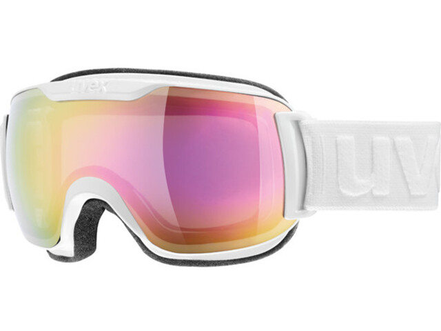 UVEX Downhill 2000 S Goggle White DL/FM Pink